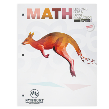 Math Lessons for a Living Education Level 6, Grade 6