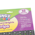 Teacher Created Resources, Clingy Thingies Chalkboard Brights Strips, 10 x 0.75 Inches, Set of 18