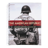 BJU Press, The American Republic Student Activity Manual Teacher's Edition, 4th Edition, Grade 8, Spiral