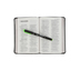 NIV Thinline Compact Bible, Duo-Tone, Black and Gray