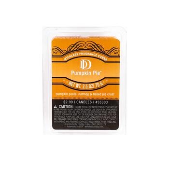 D&D, Pumpkin Pie Scented Wax Melts, 6 Cubes, 2 1/2 ounces