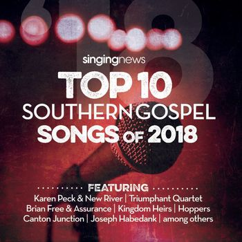 Singing News Top 10 2018, by Various Artists, CD