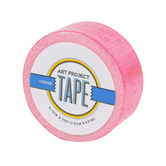 Neon Pink Mini Art Project Tape, 3/4 inches x 5 yards, 1 Roll