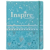 NLT Inspire Bible for Girls, Hardcover, Blue