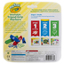 Crayola, My First Washable Tripod Grip Marker Set, 8 Count, Assorted Colors, Ages 24 months and up
