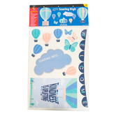 Creative Teaching Press, Calm and Cool Soaring High Welcome Bulletin Board Set, 57 Pieces