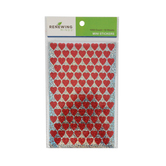 Renewing Minds, Sparkle Hearts Mini Incentive Stickers, Red, Pack of 1050