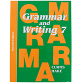 Saxon Grammar and Writing Student Textbook, Grade 7, 110 Lessons, Curtis Hake, 692 Pages