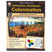 Carson-Dellosa, Interactive Notebook: Colonization Resource Book, Paperback, 64 Pages, Grades 5-8