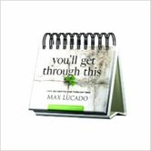 DaySpring, Max Lucado You Will Get Through This Perpetual Calendar, Paper, 5 1/2 x 5 1/4 x 1 1/4 inches