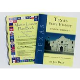 A Helping Hand, State History from a Christian Perspective Texas Set, Grades 3-12