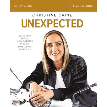 Unexpected Study Guide, by Christine Caine, Paperback