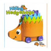 Fat Brain Toys, Hiding Hedgehogs, 4 Pieces