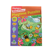 Highlights Playtime Stickers Puzzles Activity Book, Grades PreK-3