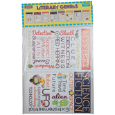 McDonald Publishing, Literary Genres Chatter Charts, 11 x 17 Inches, 8 Pieces