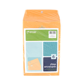 Top  Flight, Clasp Envelopes, 6 x 9 Inches, Kraft, Pack of 6