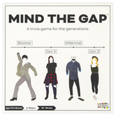 SolidRoots, Mind The Gap Board Game, Supports 2 or More Players, Ages 10 & Older