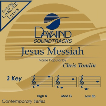 Jesus Messiah, Accompaniment Track, As Made Popular by Chris Tomlin, CD