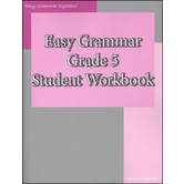 Easy Grammar Grade 5 Student Workbook