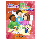 RoseKidz, More Instant Bible Lessons for Preschoolers God Helps Me, Paperback, 96 Pages, Ages 2-5