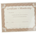 Warner Press, Certificate of Membership, 8  x 10 inches, Set of 6