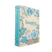 NLT Inspire Journaling Bible, Paperback