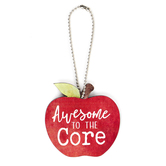 P. Graham Dunn, Awesome To The Core Teacher Ornament, Red & Green, 2 1/2 x 2 1/2 inches