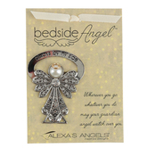 Alexa's Angels, Always by My Side Bedside Angel, Metal, 2 1/2 inches