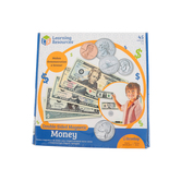 Learning Resources, Double-Sided Magnetic Money Set with Activity Guide, 45 Pieces, Grades K and up