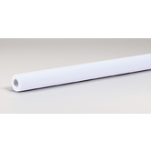 "Pacon Fadeless Paper: White - 48"" x 50'"
