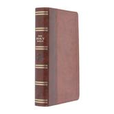 KJV Reference Bible, Giant Print, Imitation Leather, Brown and Tan