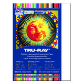 Tru-Ray® Sulphite Construction Paper, 9 x 12 inches, White, 50 Sheets