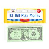 Learning Advantage, One Dollar Bill Play Money, Set of 100
