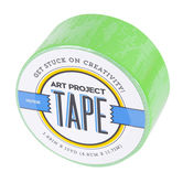 Neon Green Art Project Tape, 1 7/8 inches x 15 yards, 1 Roll