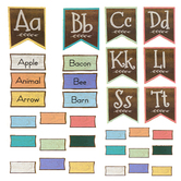 Teacher Created Resources, Home Sweet Classroom Word Wall Bulletin Board Set, 126 Pieces