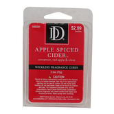 D&D, Apple Spiced Cider Scented Wax Melts, 6 Cubes, 2 1/2 ounces