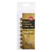 Swanson, Horizontal Bible Index Tabs in Spanish, Gold, 72 Tabs