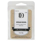 D&D, Sugar Rose Scented Wax Melts, 6 Cubes, 2 1/2 Ounces