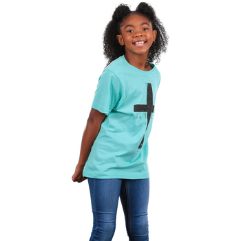 NOTW, John 3:36 I Believe, Kid's Short Sleeve T-shirt, Mint Green, 3T-YL