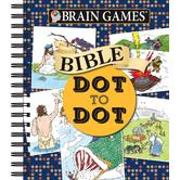 Brain Games Dot-to-Dot: Bible, by Publications International Ltd., Spiral Bound