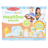 Melissa & Doug, Mine to Love Mealtime Play Set, 24 Pieces