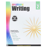 Carson-Dellosa, Spectrum Writing Workbook, Paperback, 112 Pages, Grade 2