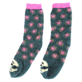 Natural Life, Sloth Cozy Critter Socks, Multi-Colored