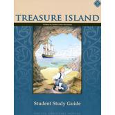Memoria Press, Treasure Island, Student Study Guide, Paperback, Grades 7-8