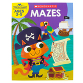 Scholastic, Little Skill Seekers: Mazes Activity Book, 48 Pages, Grades PreK-K