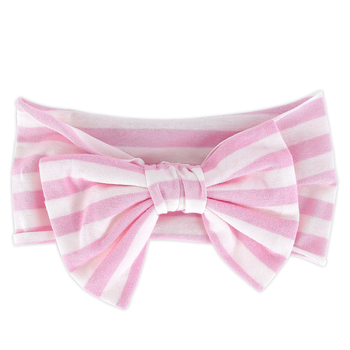 Brother Sister Design Studio, Striped Bow Headband, Multiple Colors Available, 6 1/2 x 4 inches