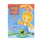 BJU Press, Focus on Fives K5 Student Worktext, 4th Edition, Paperback, Grade Kindergarten
