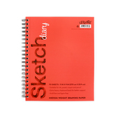 Carolina Pad, U Create Sketch Diary, 11 x 9 Inches, 70 Sheets