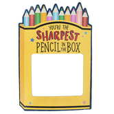 School Shop, Custom Photo Booth Frame Sharpest Pencil BTS, Multi-Colored, 14 x 20 Inches, 1 Each