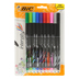 Bic, Intensity Marker Pens, Fine Point, Assorted Colors, Pack of 10